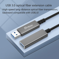 DTECH new product HDMI/DP/DVI/USB3.0 Fiber Cable have been launched