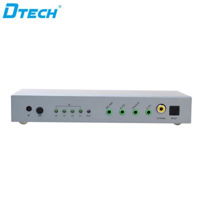 DTECH DT-7041 3D 4K*2K HDMI Switch 4 to 1+Audio