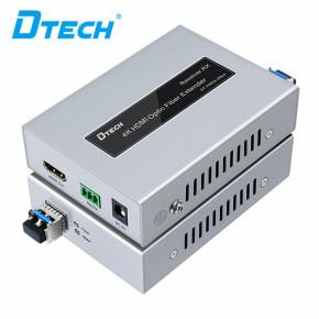 Factory Supplier Dtech Video 4K IR RS232 HDMI Fiber Optic Extender 20KM Hdmi Extender