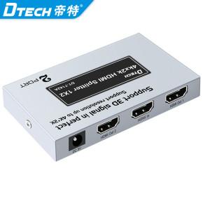 Factory Price DTECH HDTV HD Signal 4K*2K 60hz Audio Video 1x2 HDMI Splitter