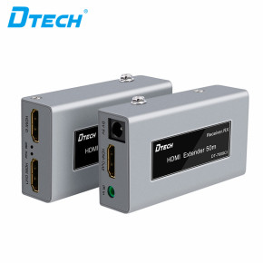 Dtech HD 3D 4K USB 1080P 60Hz HDMI Video Monitor Extender cat5 cat6 50m IR RJ45 Hdmi Extender