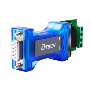 Dtech 1500VDC Passive RS232 Photoelectric Isolation Protector RS232 Converter with Lighting