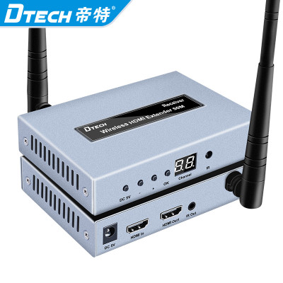 Wireless HDMI Extender 50m 100M 200M Long Range Transmitter and Receiver Resolution up to 1080P IR Control Hdmi Wireless Extender