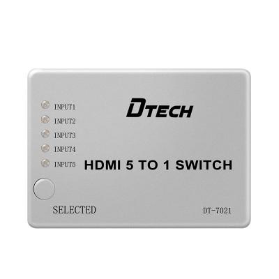 Dtech Switch HDMI Switcher 5x1 CCTV 1080p HDCP 4K HDMI Switch