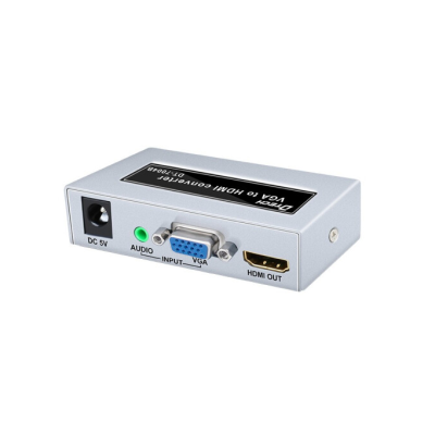 DT-7004B Metal shell 1080p VGA TO HDMI Converter