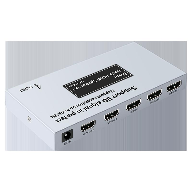 Dtech 4K V1.4 1 Input 4 Output HDMI Splitter 1X4