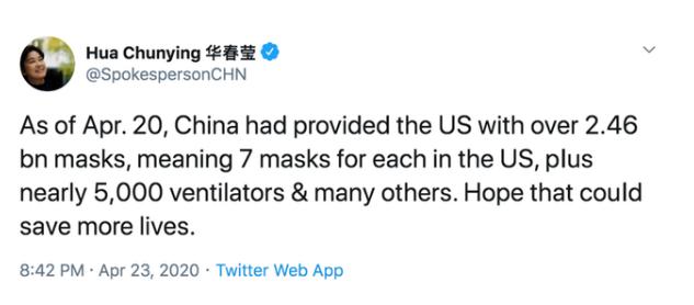 proporcionó 2.4 mil millones de máscaras
