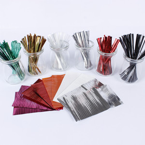 Matellic Twist Tie for Christmas/Gift/Candy