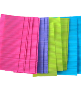 PE Gang Twist Ties for plastic bags closure/colorful twist ties