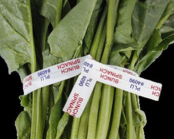 paper vegetable twist ties/ waterproof twist ties/ printed twist ties