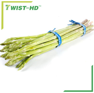 biodegradable paper twist ties for vegetable/fruit