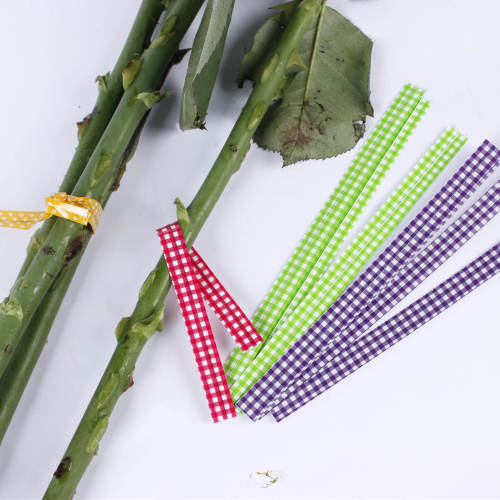 Single wire 4mm 8mm 9.5mm width pet twist tie