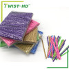 customized paper twist ties/bag closure for bakery