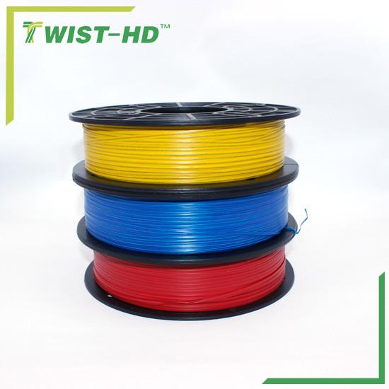 paper/plastic twist ties/bag closure in reel