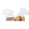Factory price paper printed twist tie for baking gift bread package