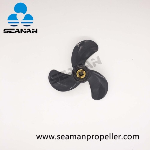 6011-079-07P New 7-7/8 x 7-1/2 Aluminum Ship Propeller For Honda Outboard Motor 5HP engine