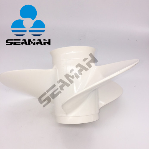 New 11 1/2 X 13 Aluminum Boat Outboard Propeller can be replacement For Yamaha 25-60HP engine 663-45974-02-98