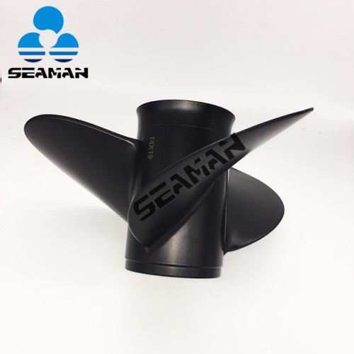 Aluminum Outboard Propeller 14x19 for Suzuki DF90/100/115/140HP motor engine 58100-90J11-019 from China