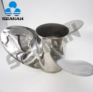 Outboard Stainless Steel Propeller 15 1/2 x17  Left Hand Rotation Props with Good Quality