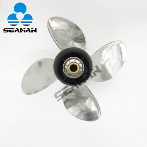 New 13 1/2 x 15 Pitch Stainless Steel Props for Yamaha Outboard 150-300 Hp engine good quality in CHINA