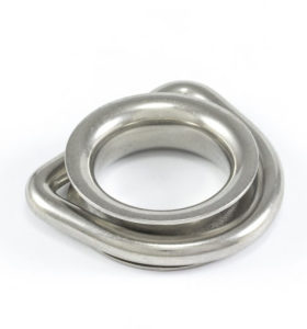 Stainless Steel Shade Sails D Ring for Wire Rope