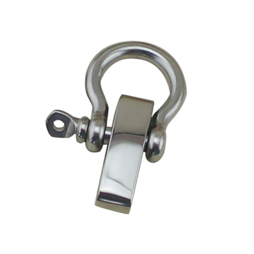 Terada Stainless Shackles SS316 High Polished for 8mm Cable with ISO9001