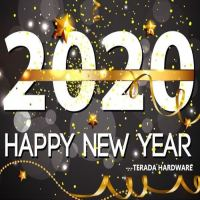Happy New Year 2020! for Terade Team and work.