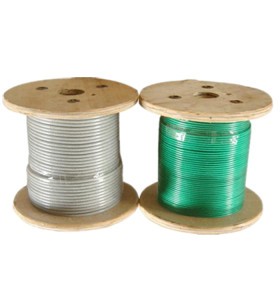 PVC Wire Rope 7X7 for Tensile Structure
