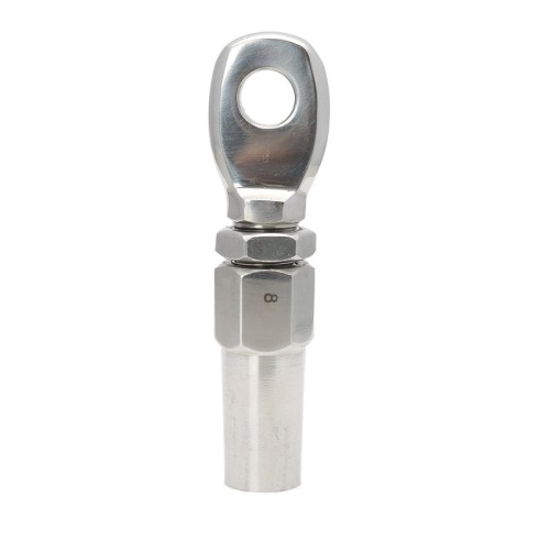Stainless Steel Swageless Welded Fork Terminals for Cable Railing