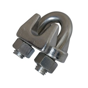 SS304 Stainless US Malleable Type Wire Rope Clip