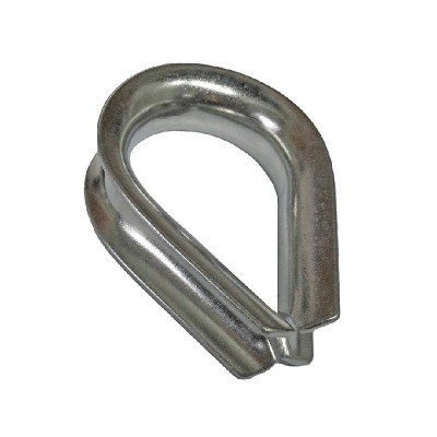 SS304 3/8 US Type Thimble G411 on Wire Rope Thimbles