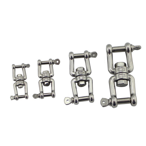 SS304 Eye Fork Ring Swivels High Quality
