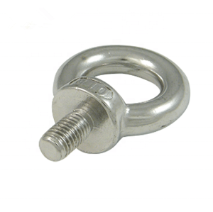 SS316 JIS1168 Eye Bolt Stainless Steel Rigging Screw
