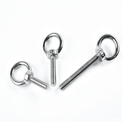 Welded Eye Bolt DIN580 Long Thread with Nut Stainless Steel 304