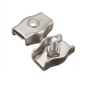 SS304 صب أسلاك الفولاذ حبل المشبك  DIN741