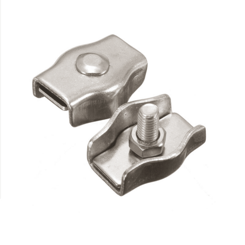 SS316 High Quality Stainless Simplex wire rope clip  Wire Rope Clamp