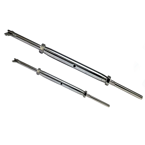 Hand Swage Drop Pin and Stud Closed Body Turnbuckle T316