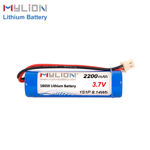 3.7v 2200mah lithium battery pack