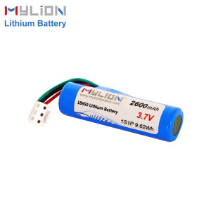3.7v 2600mah lithium battery pack