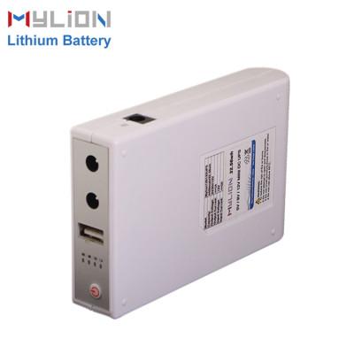 Mylion 5V&9V&12V 1A 32.56Wh lithium ion backup battery mini ups for security alarm system