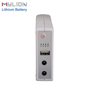 Mylion 5V&9V&12V 1A 32.56Wh lithium ion backup battery mini ups for security alarm system