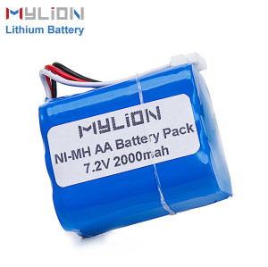 Nimh 7.2v 2000mAh Nimh Battery Pack