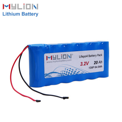 3.2V 20ah LiFe PO4 Battery Pack