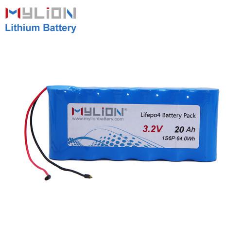 3.2V 20ah LiFe PO4 Battery Pack