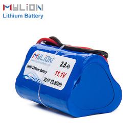 11.1v 2600mah lithium battery