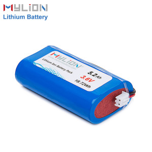 3.6V5200mAh Lithium ion battery pack