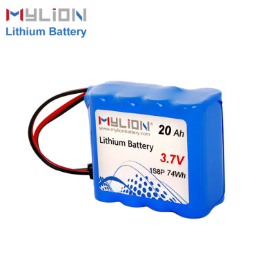 3.7V20Ah Lithium ion battery pack