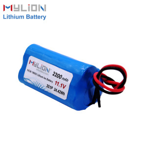 mylion 11.1V2200mAh Lithium ion battery pack
