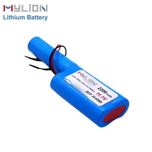 11.1V2200mAh Lithium ion battery