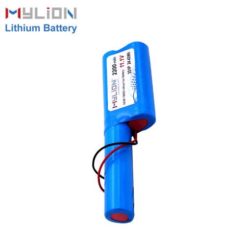 11.1V2200mAh Lithium ion battery
